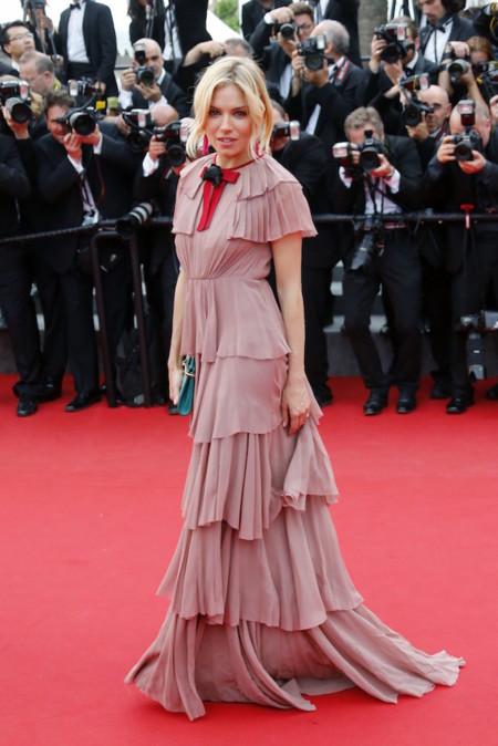 Sienna miller en Festival de Cannes