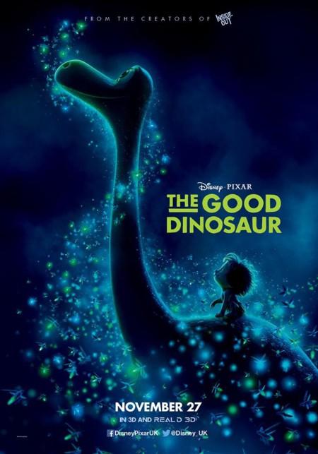 Nuevo cartel de El Viaje de Arlo (The Good Dinosaur)