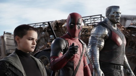 Negasonic, Deadpool y Colossus