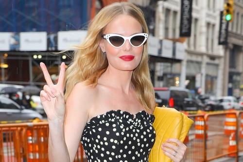 Kate Bosworth y su look años 50's más sencillo de copiar esta temporada