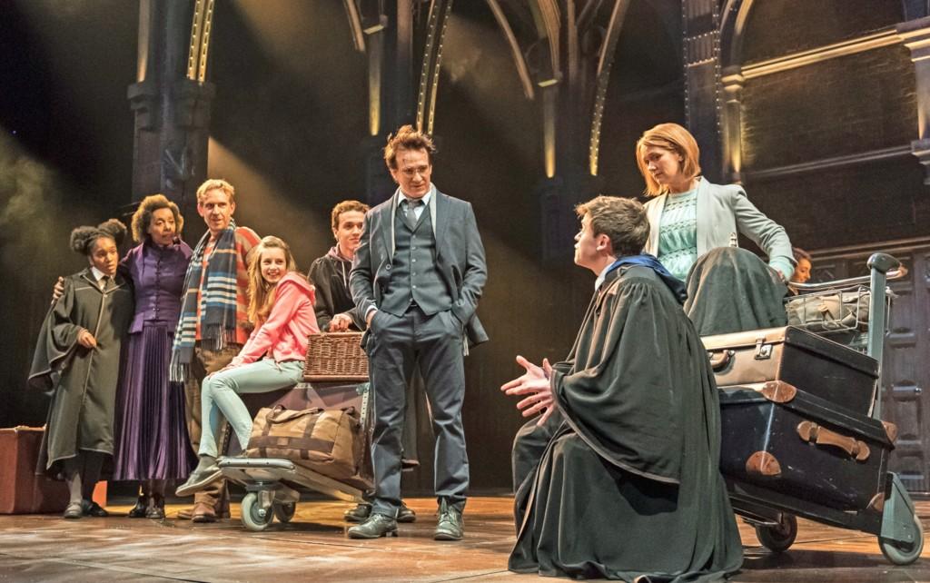 Foto de la obra de Harry Potter y el Legado Maldito