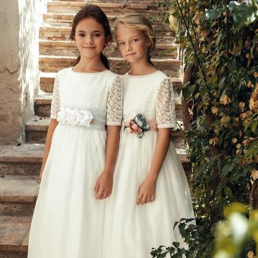 Los vestidos de Primera Comunión 2020 más bonitos y de diferentes estilos, incluidos los modelos 'low cost' de Mango