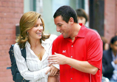 Imágenes de Adam Sandler y Jessica Biel en el rodaje de 'I Now Pronounce You Chuck and Larry'