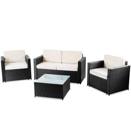 Set de muebles de jardín o terraza por 149 euros en la ...