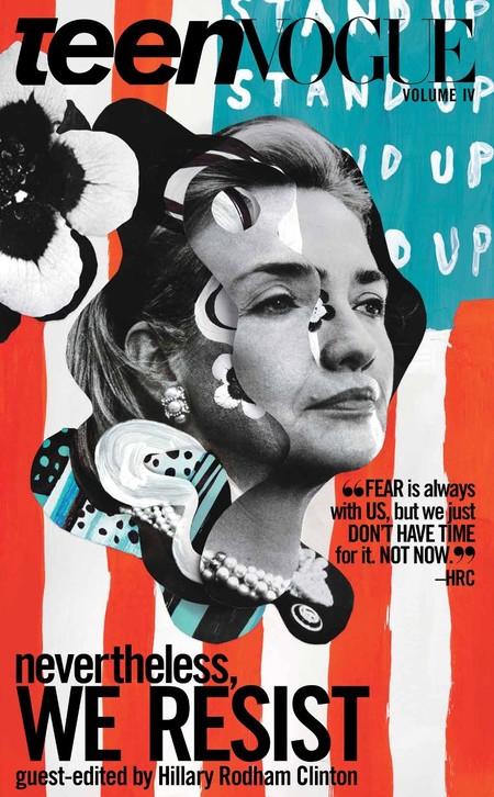 Teen Vogue celebra el año de las elecciones con una portada recordando a Hillary Clinton