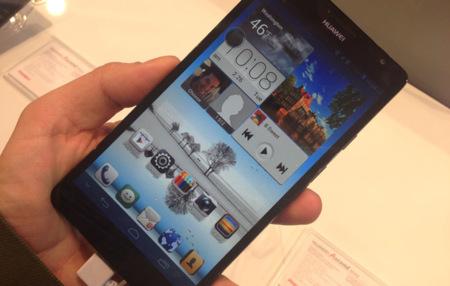 Huawei Ascend Mate, toma de contacto