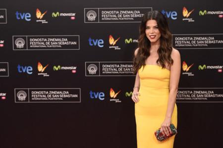Las actrices españolas alegran la alfombra roja del Festival de San Sebastián