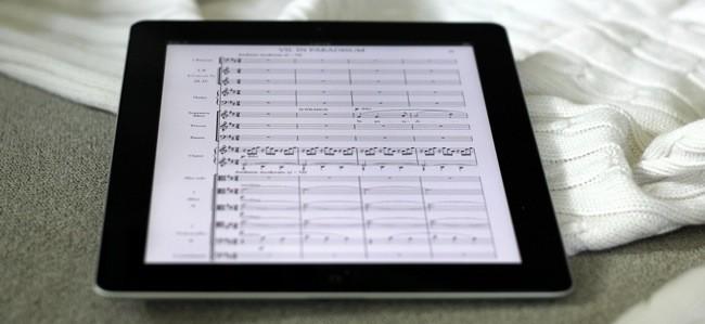 Musica en el iPad