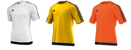 Camisetas de fútbol Adidas Estro 15 JSY en diferentes colores desde 10,95 euros en Amazon