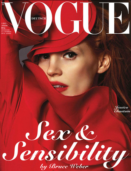 Jessica Chastain Vogue