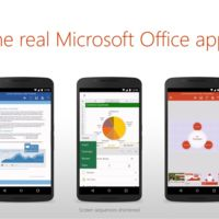 Microsoft Word, Excel y PowerPoint ya disponibles para móviles Android