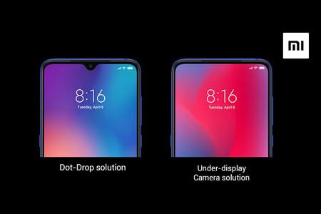 Xiaomi Camara Frontal Invisible Pantalla