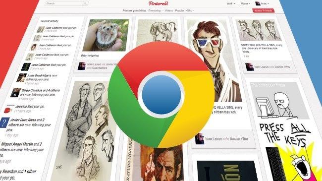 Siete extensiones de Chrome para Pinterest