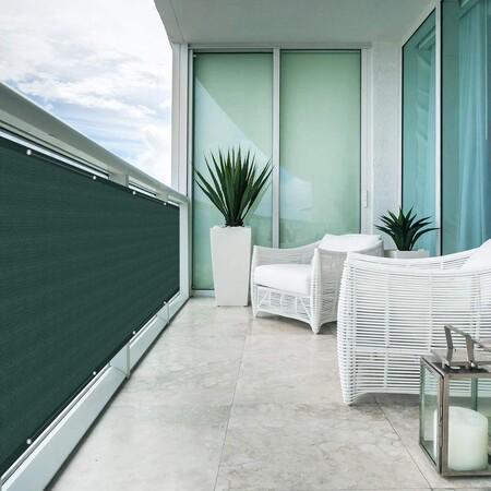¿Buscando privacidad en tus zonas de exterior? Este es el protector de balcones y terrazas más vendido de Amazon