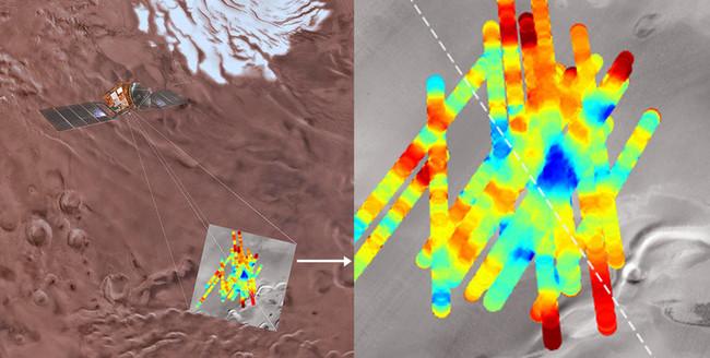 Un Lago De Agua Liquida Se Esconde Bajo La Superficie De Marte Image 380