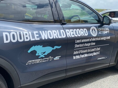 Ford Mustang Mach E Guinness World Record 2