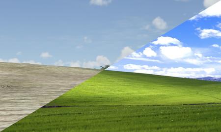 Un jugador de Microsoft Flight Simulator ha encontrado el paisaje del mítico wallpaper de Windows XP