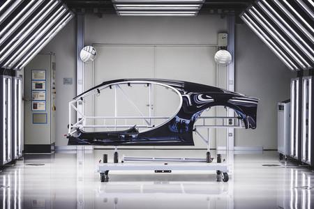 Bugatti Chiron panel de carrocería