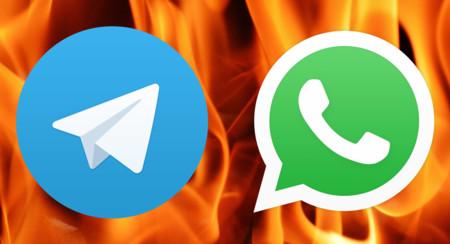 ¿Qué le falta a WhatsApp para igualar a Telegram?