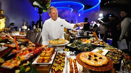 Wolfgang Puck Oscars Cine Cocina Chef