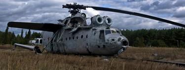 Chernóbil y los vehículos radioactivos que allí quedaron abandonados
