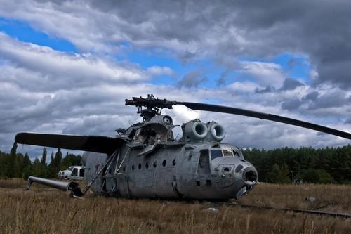 El recuerdo de Chernóbil y los vehículos radioactivos que allí quedaron abandonados