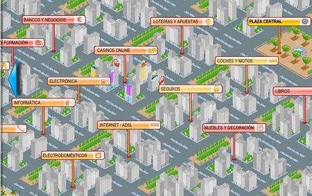 CityLogo, ciudad virtual con las ofertas en callejero
