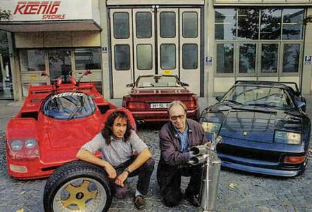 Willy Konig y Vittorio Strosek