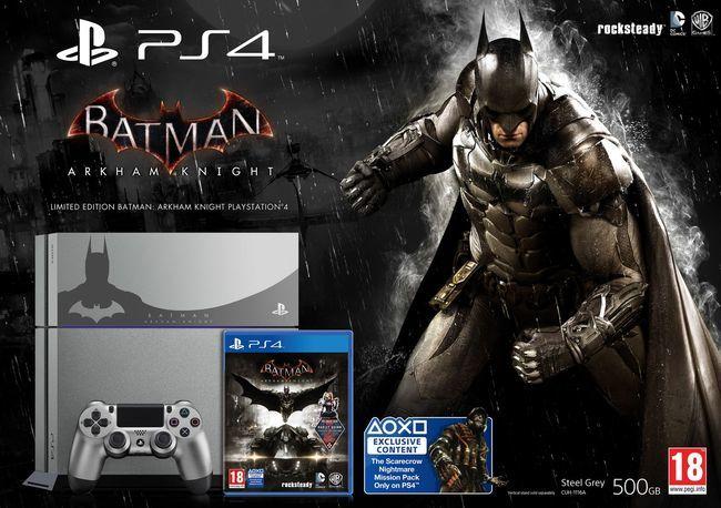 La edición limitada de PS4 con Batman, ese oscuro objeto de deseo