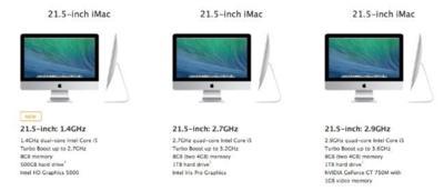Apple lanza un nuevo modelo de iMac más económico