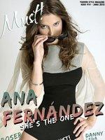 Ana Fernández, la actriz de moda, ahora posa sexy en la revista Must!