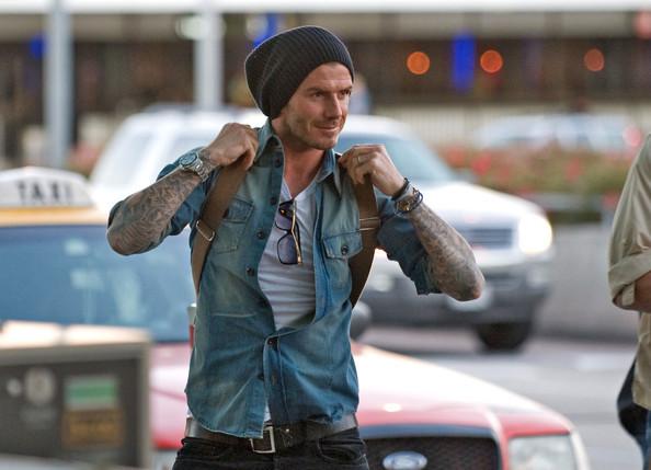 Foto de David Beckham con el nuevo tupé: trucos para ocultar las entradas y la caída del pelo (1/19)