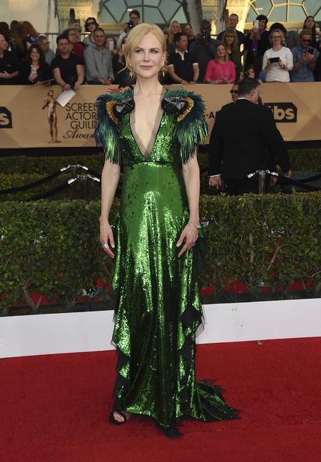 Nicole Kidman Gucci Sag Awards 2017
