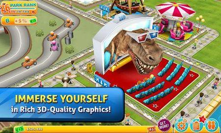 Tras su paso por iOS el mítico 'Theme Park' llega a Android