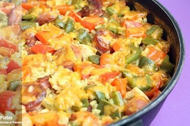 Receta de arroz con pollo y chorizo criollo