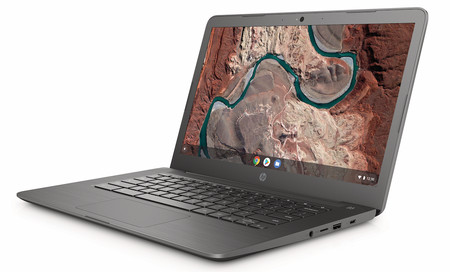 Hp Chromebook 14 Chalkboardgray Frontleft