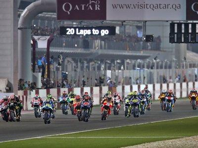 Las carreras del mundial de MotoGP serán más cortas a partir de 2018, afectando a todas las categorías
