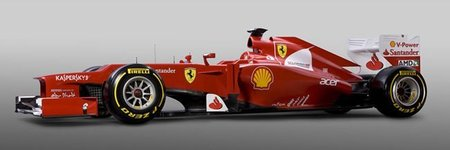 ¿En qué se inspiraron para el diseño del Ferrari F2012?