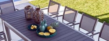 Lo mejor para la terraza esta semana: Leroy Merlin y sus rebajas en algunos muebles y Lidl y sus novedades para exterior