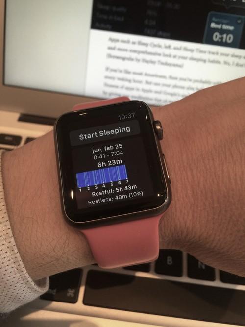 Cómo he logrado dormir mejor gracias al iPhone y al Apple Watch