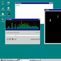 Big Desk Energy: descubre música y juega Pong en este escritorio inspirado en Windows 95 que funciona en una pestaña del navegador
