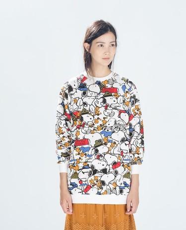 La sudadera de Snoopy de Zara que se va a agotar