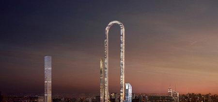 Un rascacielos que se dobla sobre sí mismo busca ser la edificación más larga e impresionante del mundo
