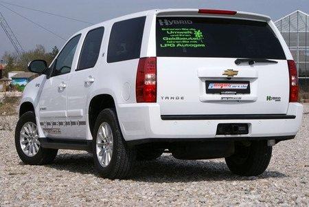 Chevrolet Tahoe Hybrid LPG por Geigercars, bienvenido sea este tipo de tuning
