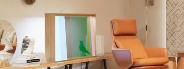 ¿Televisor o vitrina? Así es el nuevo concepto de pantalla OLED presentado por Panasonic en Milán