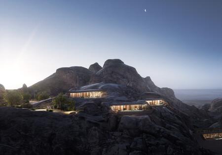 Espacios que inspiran: el complejo turístico de The Red Sea Project en Arabia Saudí (...dentro de una roca)
