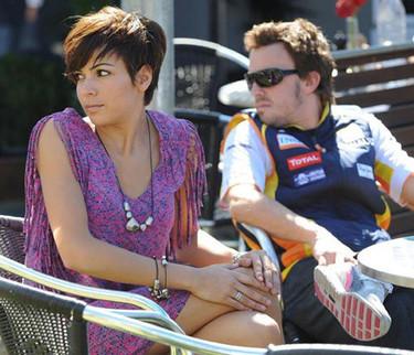 Fernando Alonso y Raquel del Rosario entre rumores de embarazo