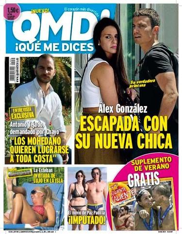 Nueva conquista en portada para Álex González