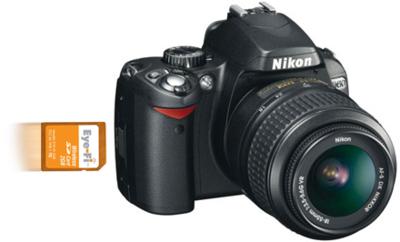 Nikon D60 dispone de integración con Eye-Fi
