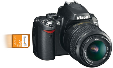 Nikon D60 dispone de integración con Eye-Fi